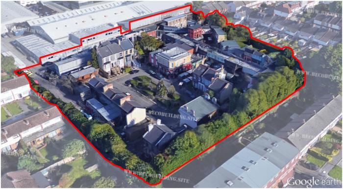 Film Set Buildings Eastenders Map Of Albert Square on