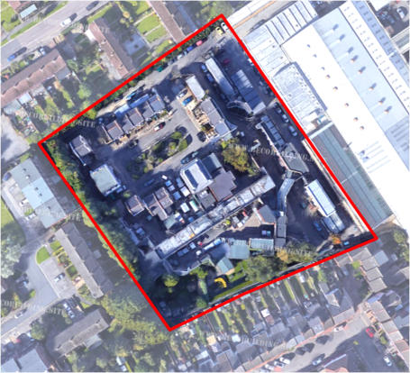 Aerial site plan illustrating the BBC EastEnders film set as it stands today. However, the face of this site is soon set to change given the BBC's approved plans to relocate the film set to the east of the site.
